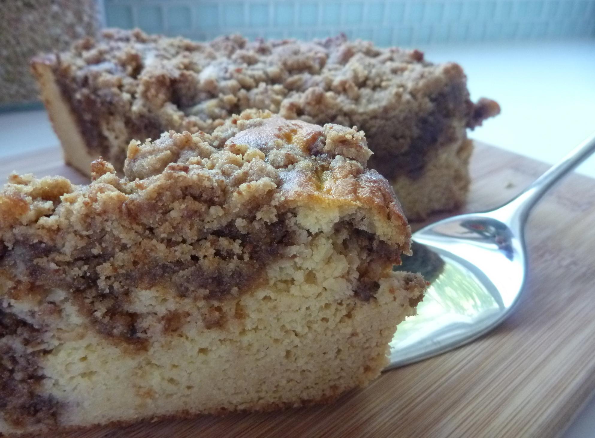 Dairy Free Coffee Cake  Healthy Vanilla Bean Cake Dairy free Gluten free Sugar
