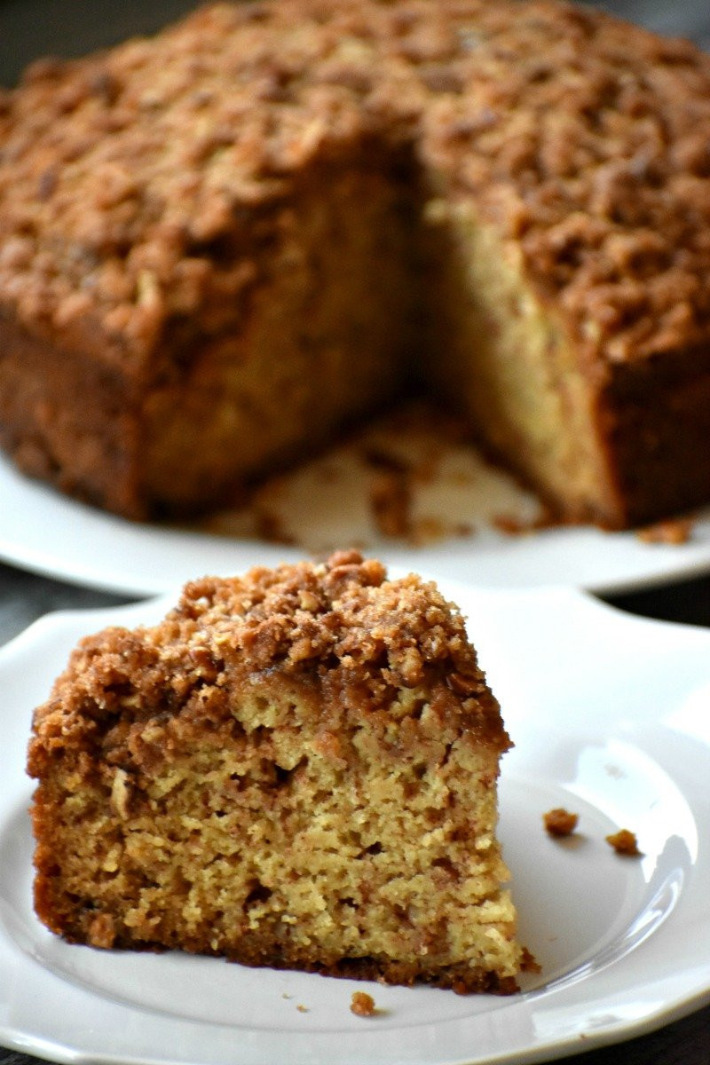 Dairy Free Coffee Cake  Gluten Free and Dairy Free Coffee Cake Moist deliciousy