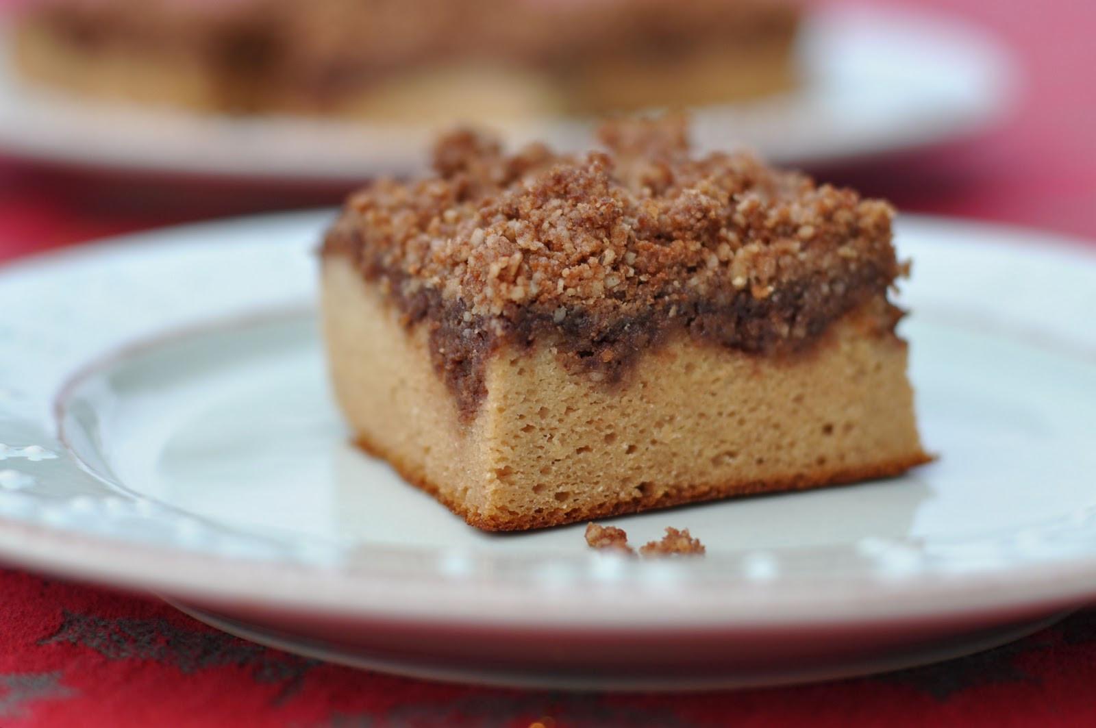 Dairy Free Coffee Cake  Nourishing Meals Grain Free Dairy Free Coffee Cake