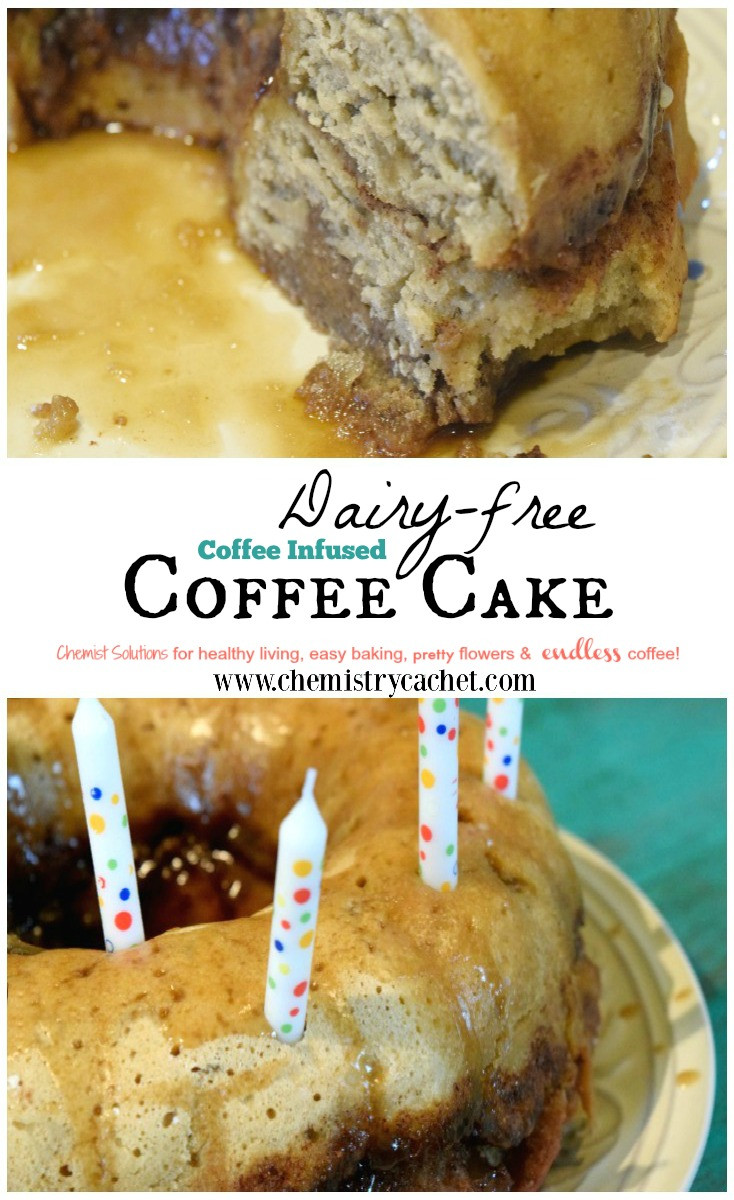 Dairy Free Coffee Cake  Dairy free Coffee Cake Infused with Coffee Flavor