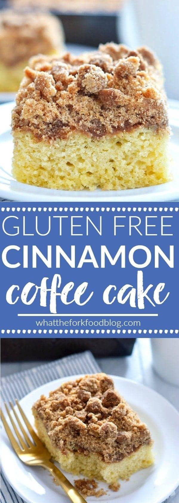 Dairy Free Coffee Cake  Gluten Free Cinnamon Coffee Cake What the Fork