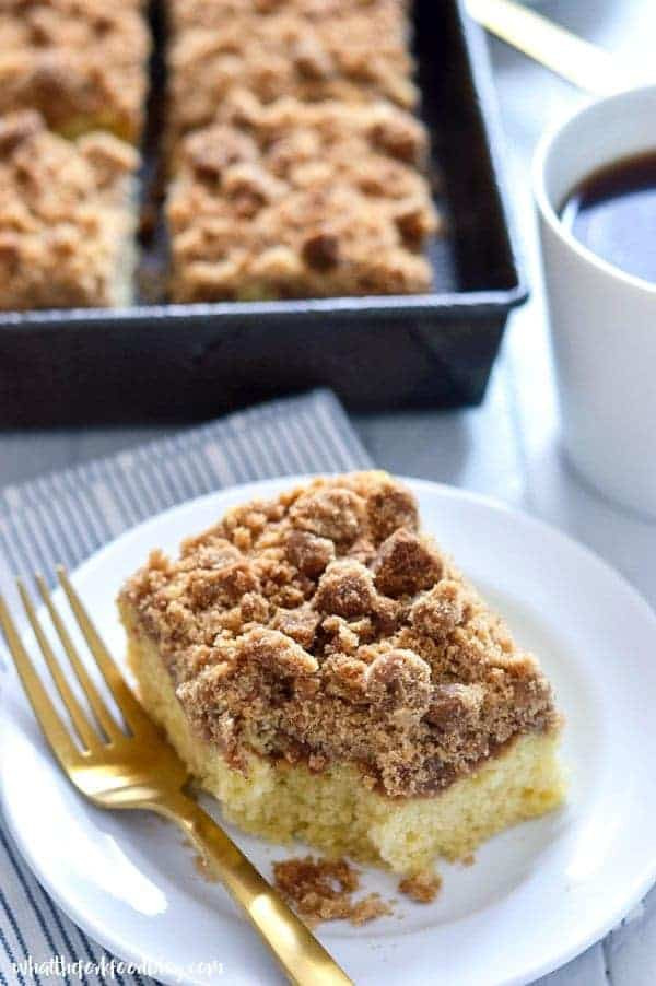 Dairy Free Coffee Cake  gluten free dairy free coffee cake