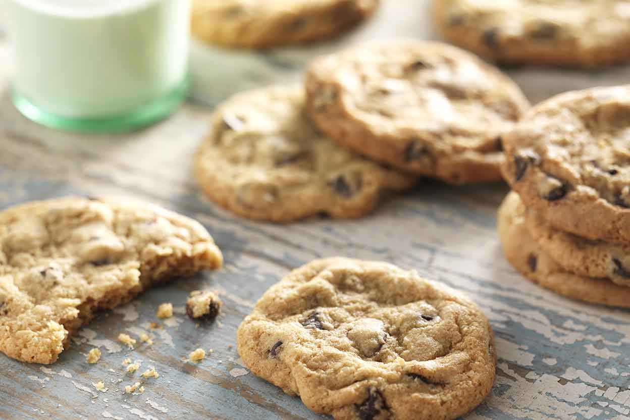 Dairy Free Cookie Recipes  Gluten Free Chocolate Chip Cookies Recipe