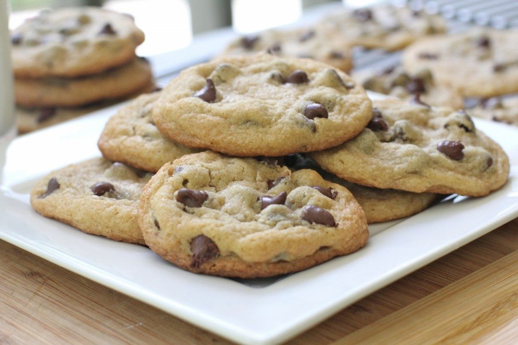 Dairy Free Cookie Recipes  Chewy Gluten Free Chocolate Chip Cookies