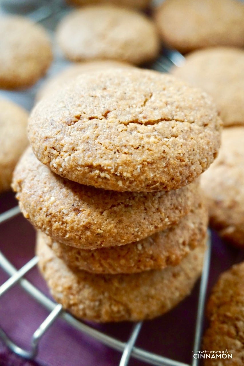 Dairy Free Cookie Recipes  Gluten Free Chai Cookies Dairy Free Refined Sugar Free