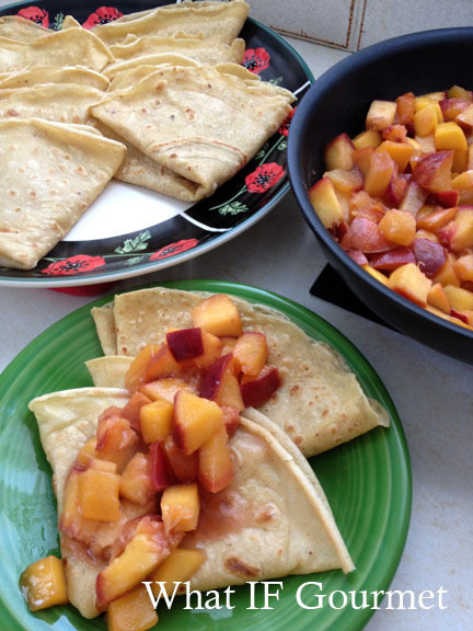 Dairy Free Crepes  Sweet or Savory Crepes Gluten Free and Dairy Free