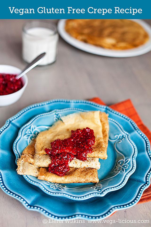 Dairy Free Crepes  Gluten Free Crepes Recipe — Dishmaps