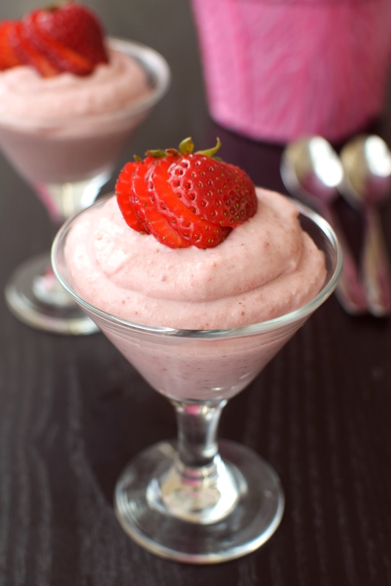 Dairy Free Dessert Recipes Vegan Strawberry Fool Dessert Recipe Go Dairy Free
