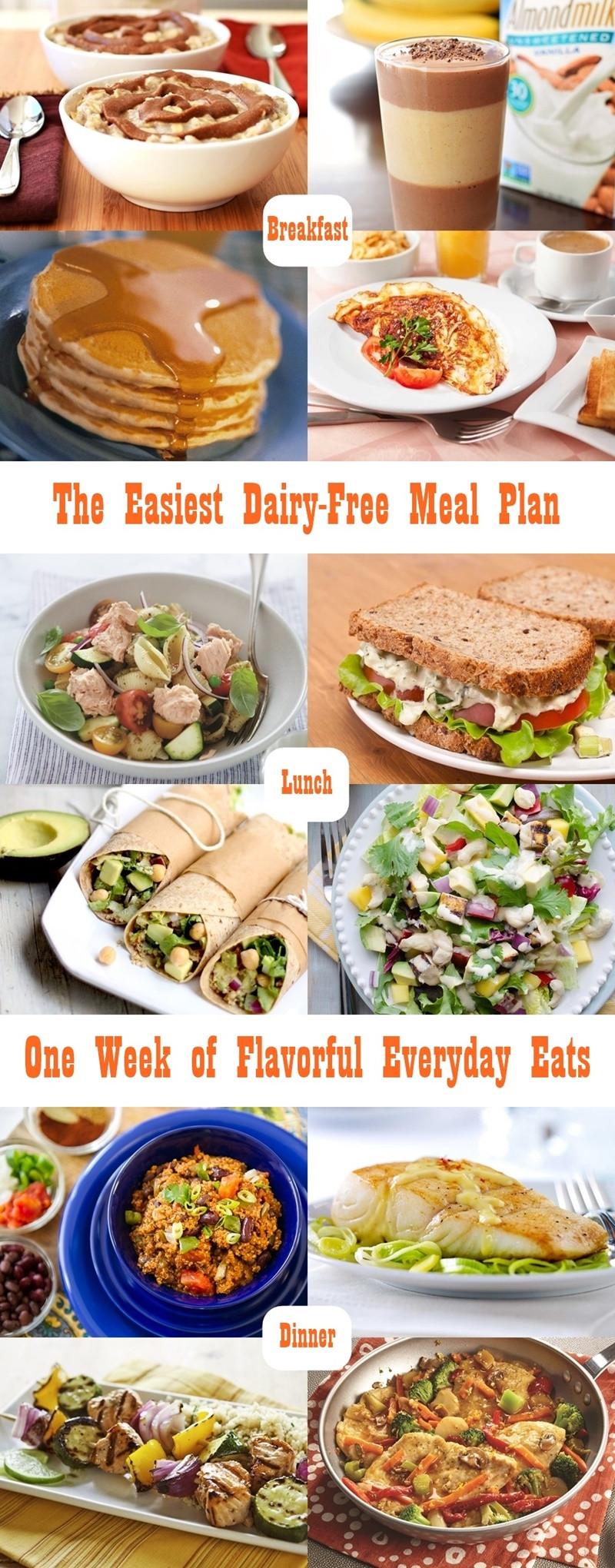 Dairy Free Diet Recipes  wheat bread t plan
