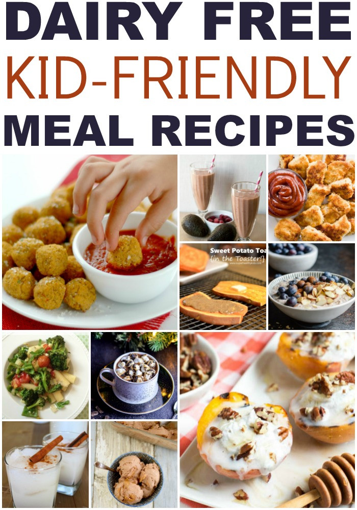 Dairy Free Diet Recipes  Dairy Free Kid Friendly Recipes for Every Meal