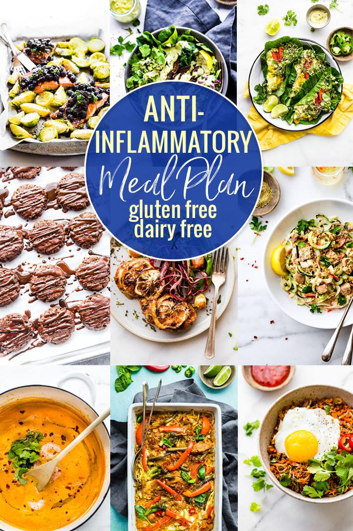 Dairy Free Diet Recipes  Anti Inflammatory Meal Plan Dairy Free Gluten Free