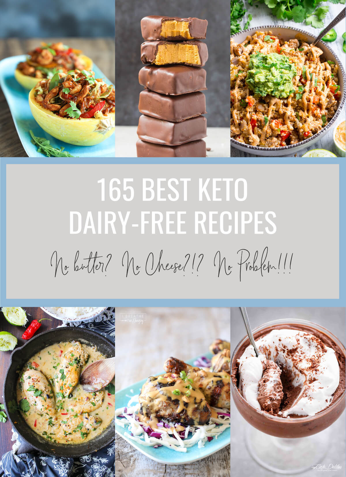 Dairy Free Diet Recipes  165 Best Keto Dairy Free Recipes Low Carb