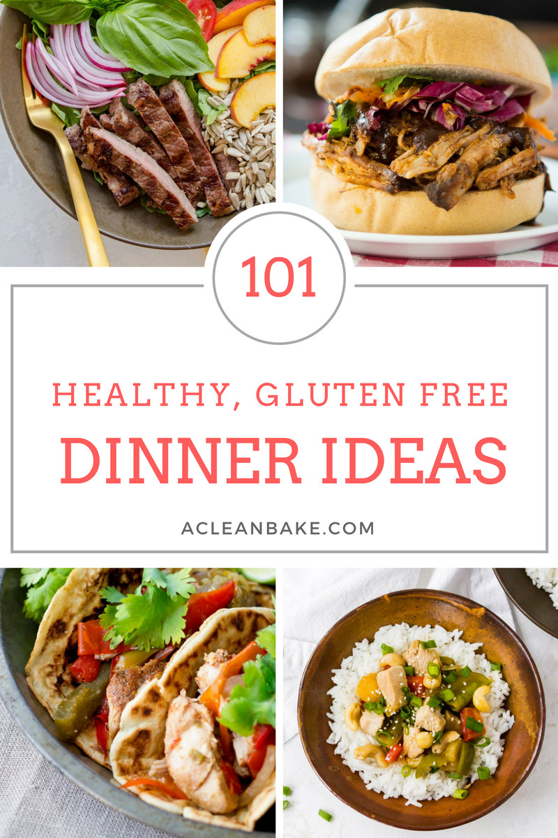 Dairy Free Dinner Ideas  101 Healthy Gluten Free Dinner Ideas Tips for Starting