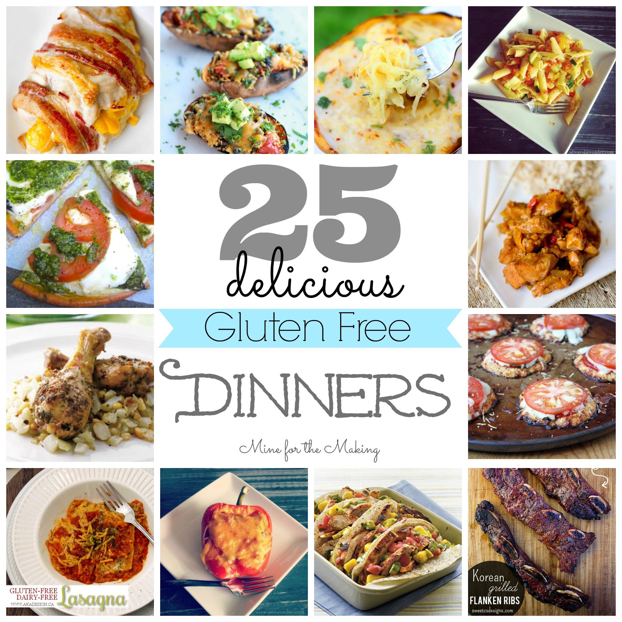 Dairy Free Dinner Ideas  Food a licious Friday 25 Delicious Gluten Free Dinners