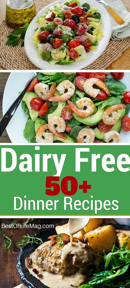 Dairy Free Dinner Ideas  Dairy Free Dinner Recipes 50 to Choose From Best of