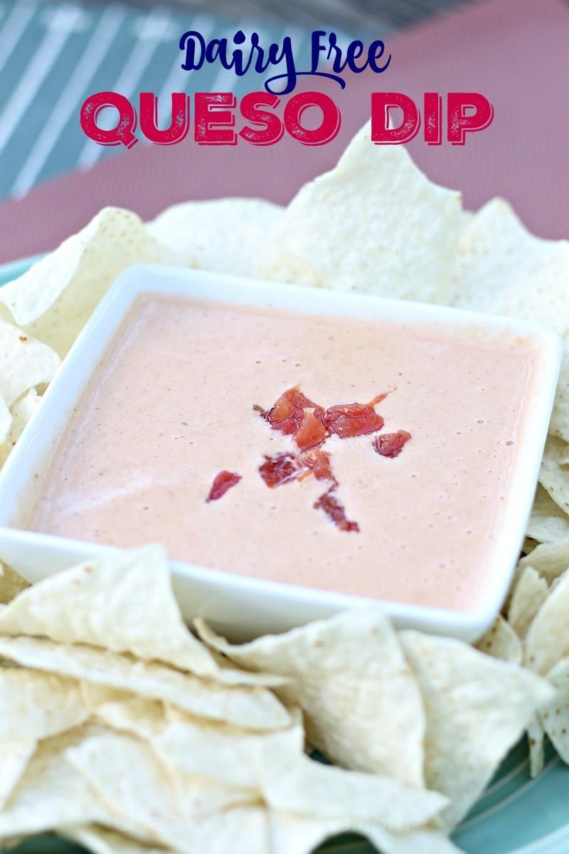 Dairy Free Dip Recipes  Dairy Free Queso Dip