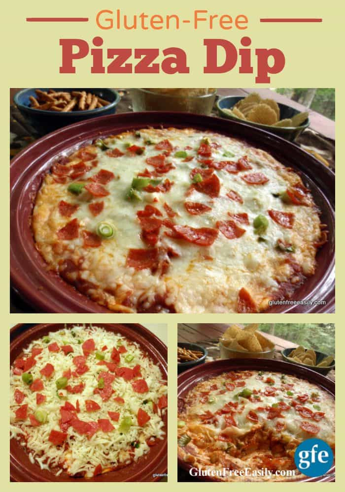 Dairy Free Dip Recipes  Pizza Dip Recipe Gluten Free with a Dairy Free Option