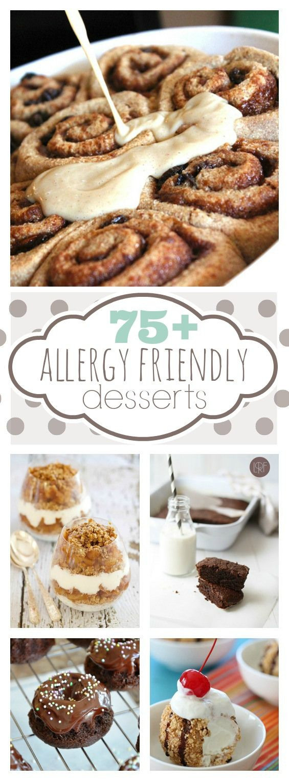 Dairy Free Egg Free Desserts  75 Allergy Friendly Dessert Recipes Including dairy free