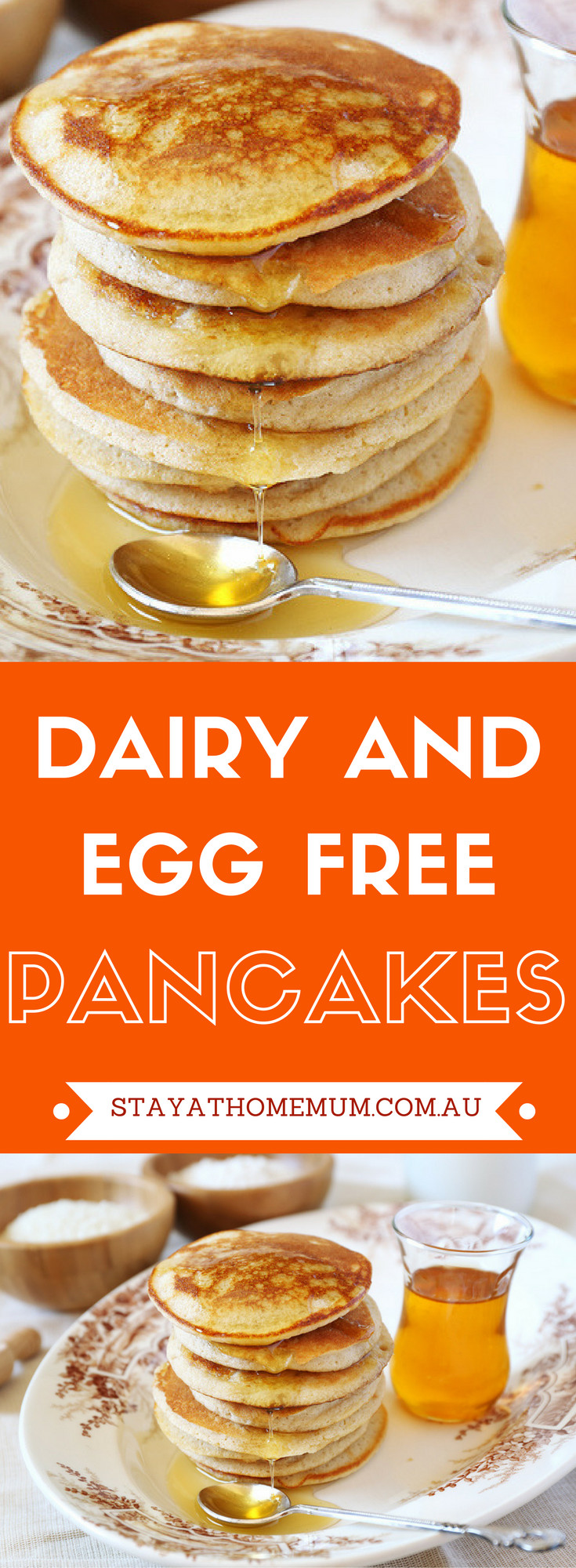 Dairy Free Egg Free Pancakes  Dairy and Egg Free Pancakes