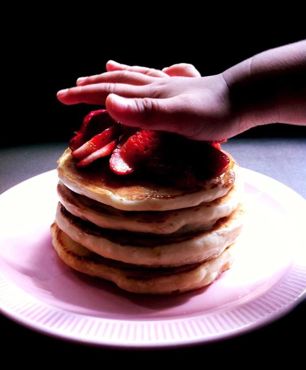 Dairy Free Egg Free Pancakes  Toddler Tuesdays Fluffy Vegan Pancakes Dairy Free Egg