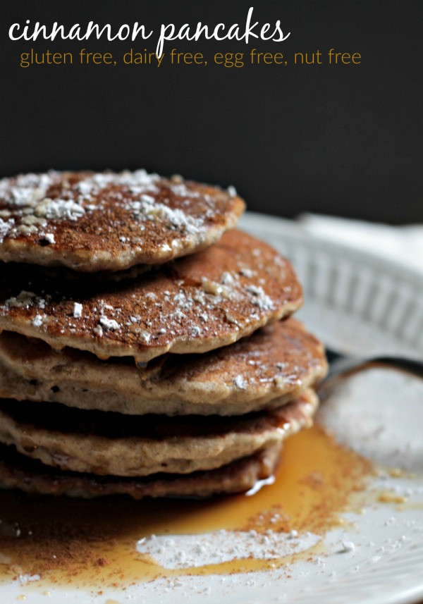 Dairy Free Egg Free Pancakes  Our Fifth House gluten free dairy free & egg free