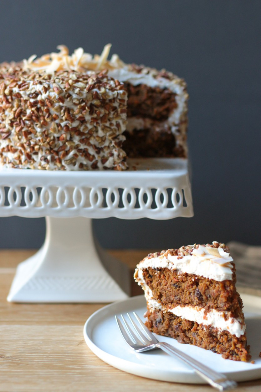 Dairy Free Egg Free Recipes  Carrot Cake with Cream Cheese Frosting gluten free grain