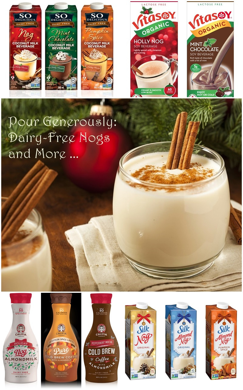 Dairy Free Eggnog Brands Dairy Free Holiday Beverages Look at What s Available