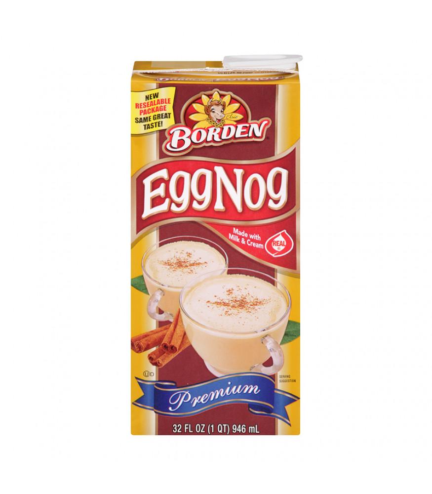 Dairy Free Eggnog Brands Borden Egg Nog 32oz 946ml American Fizz