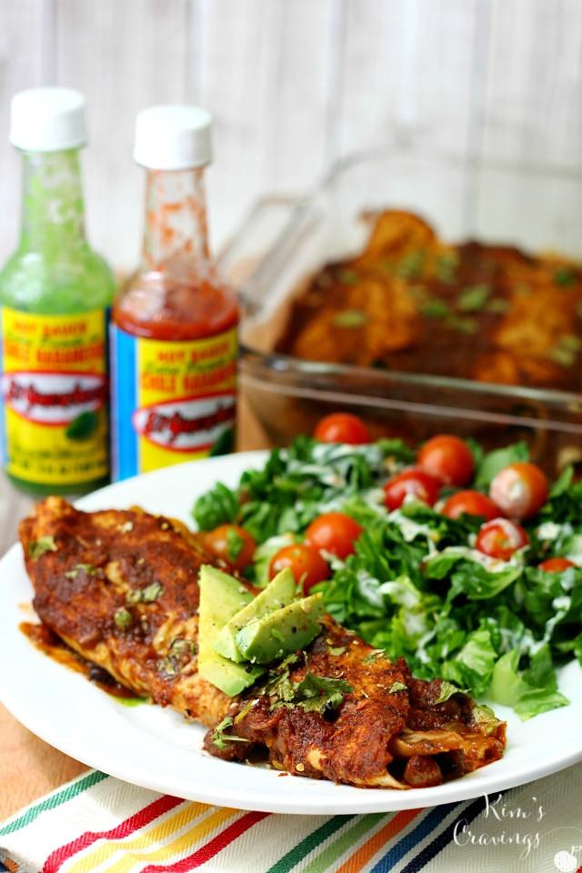 Dairy Free Enchiladas  Gluten Free Dairy Free Chicken Black Bean Enchiladas with