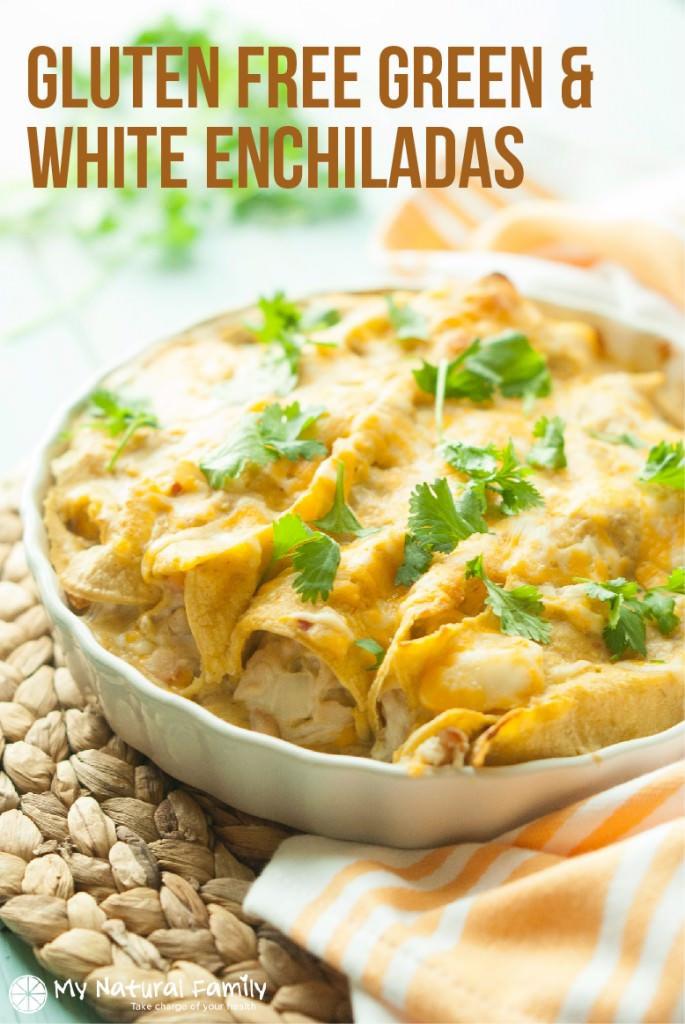 Dairy Free Enchiladas  Gluten Free Chicken Enchiladas Recipe