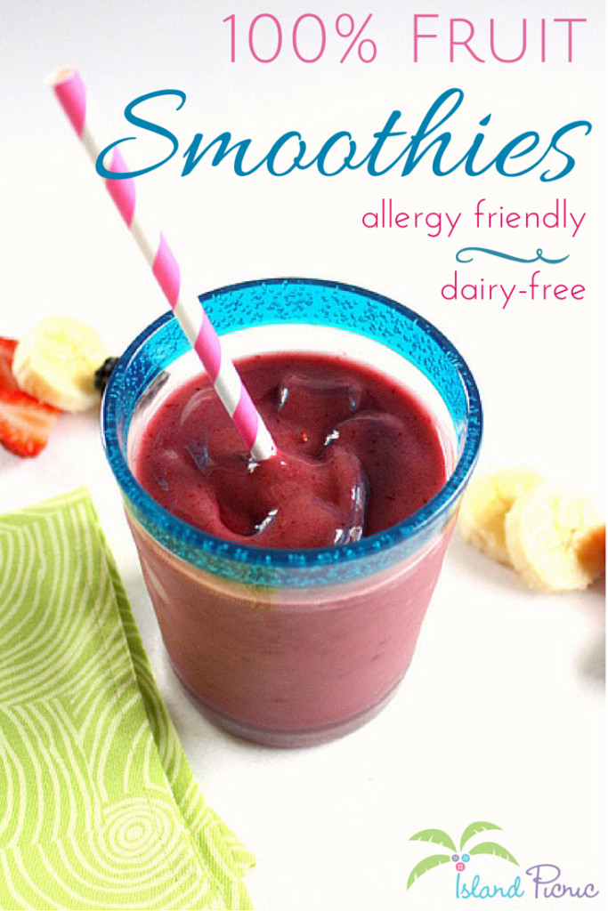 Dairy Free Fruit Smoothies  Fruit Smoothies & Smoothie Popsicles — Dairy free