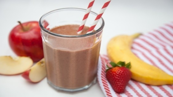 Dairy Free Fruit Smoothies  Dairy Free Coca Cacoa Fruit Smoothie with Gala Apples