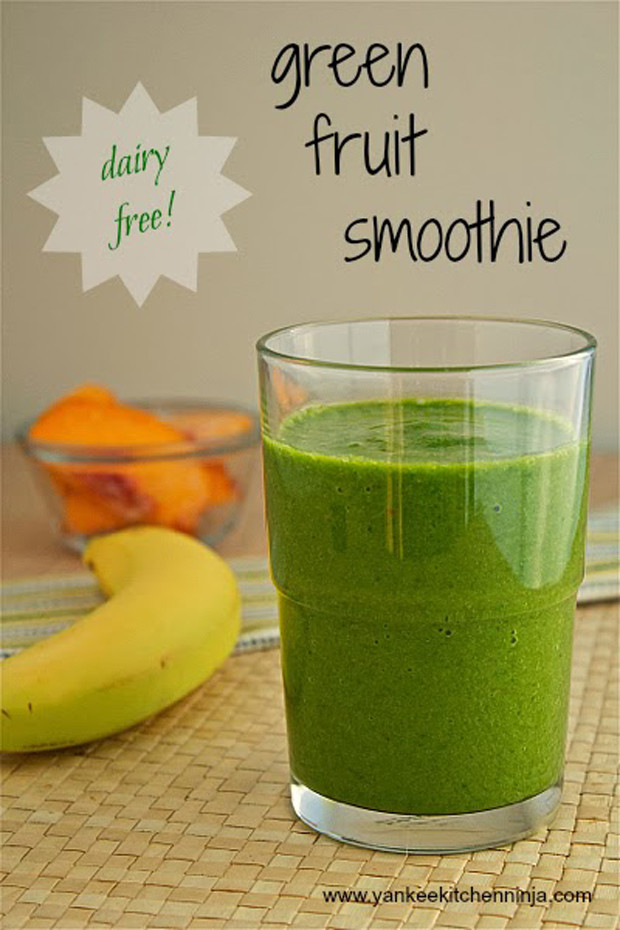 Dairy Free Fruit Smoothies  Dairy Free Green Fruit Smoothie Recipe RecipeChart