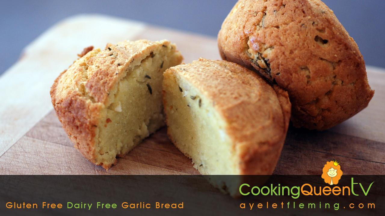 Dairy Free Garlic Bread  Cooking Queen