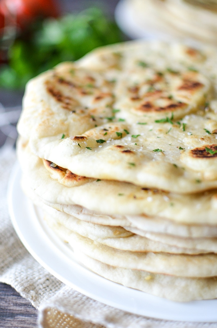 Dairy Free Garlic Bread  Dairy Free Garlic Naan Bread Simply Whisked