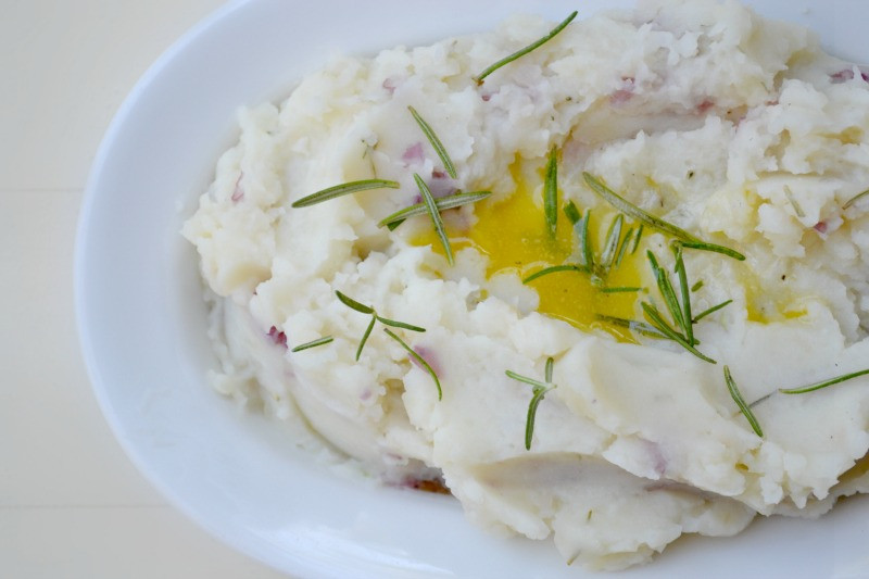 Dairy Free Garlic Mashed Potatoes  Dairy Free Mashed Potatoes Fork and Beans