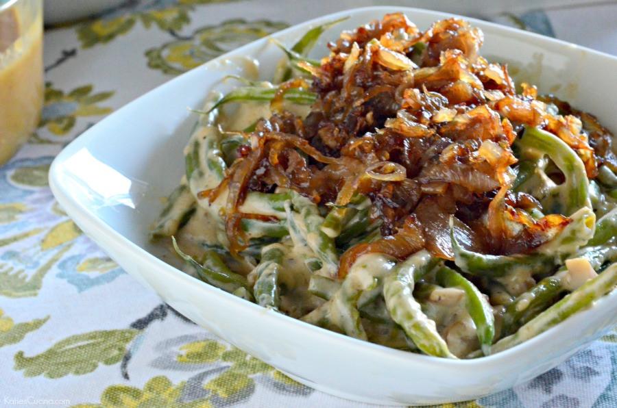 Dairy Free Green Bean Casserole  Gluten Free Green Bean Casserole