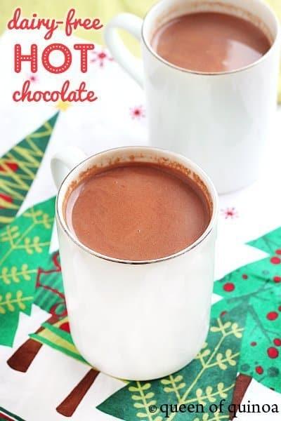 Dairy Free Hot Chocolate  Dairy Free Hot Chocolate Simply Quinoa