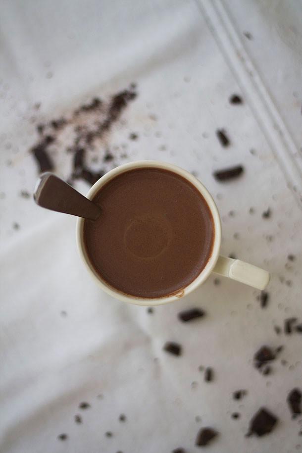 Dairy Free Hot Chocolate  Thick and Creamy Coconut Milk Hot Chocolate Paleo Gluten