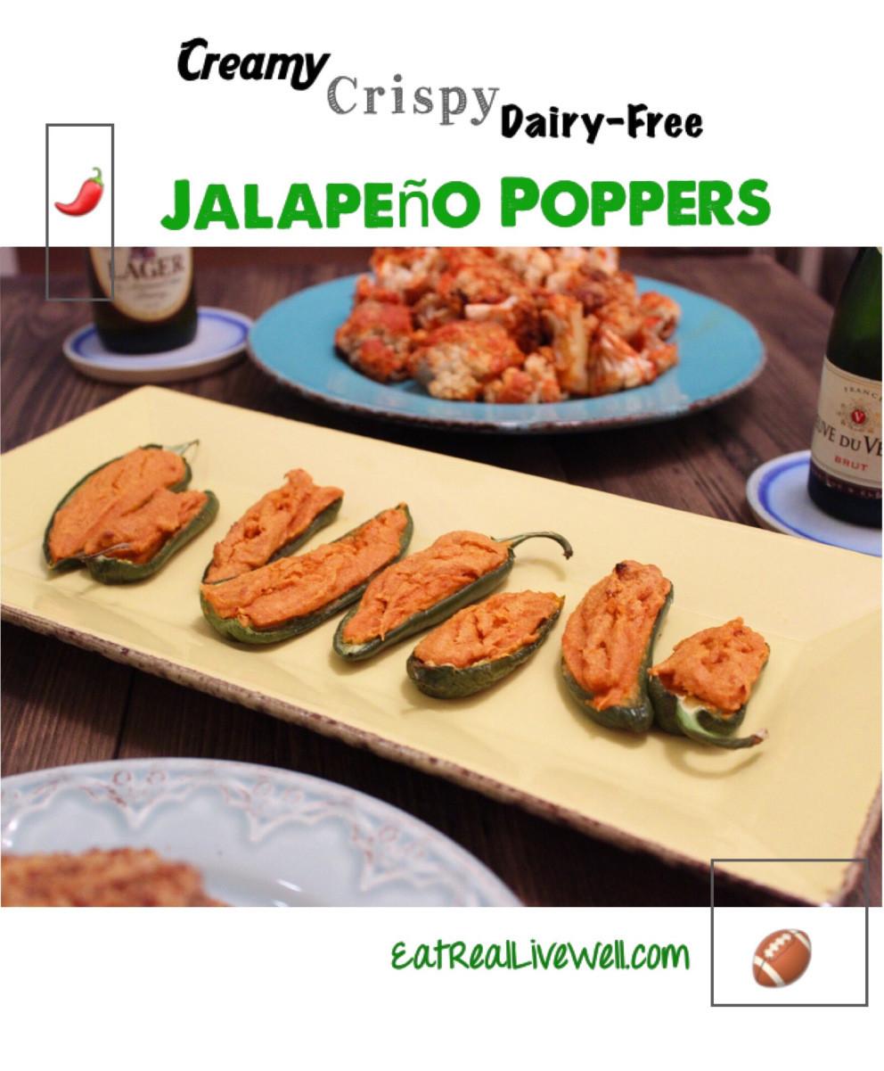 Dairy Free Jalapeno Poppers  Dairy Free Jalapeno Poppers Kelly Jones