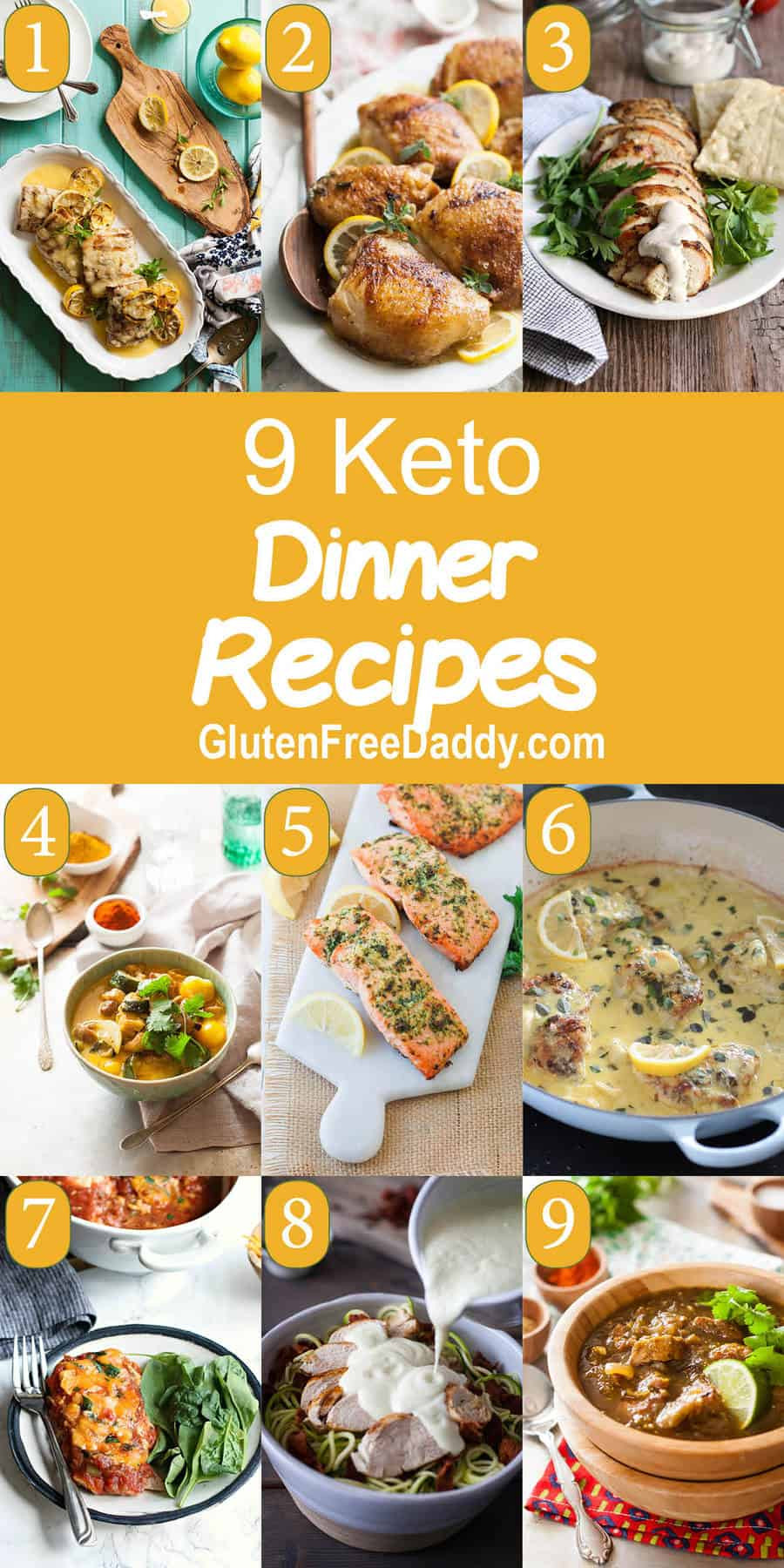 Dairy Free Keto Dinner Recipes Best Keto Dinner Recipes Low Carb and Still Delicious