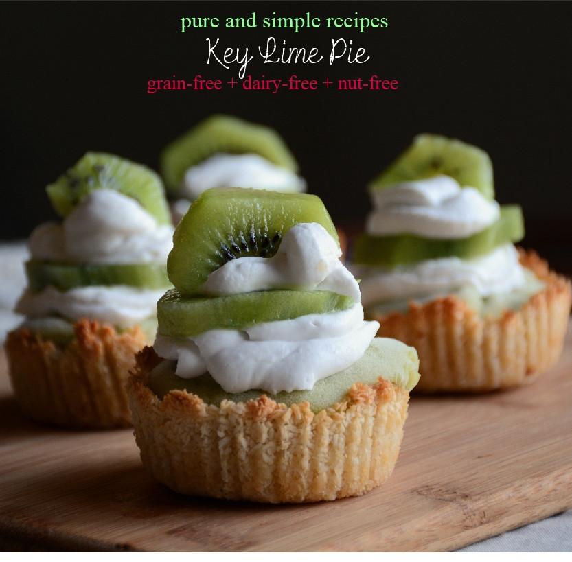 Dairy Free Key Lime Pie Recipe  Key Lime Pie paleo dairy free nut free AIP