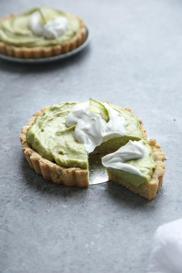 Dairy Free Key Lime Pie Recipe  Gluten Free Key Lime Pie Recipe with Avocado Cream