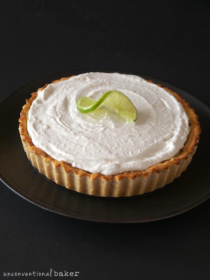 Dairy Free Key Lime Pie  Creamy Key Lime Pie Gluten Free Vegan Paleo Refined