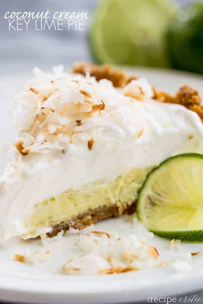 Dairy Free Key Lime Pie With Coconut Milk  Coconut Cream Key Lime Pie