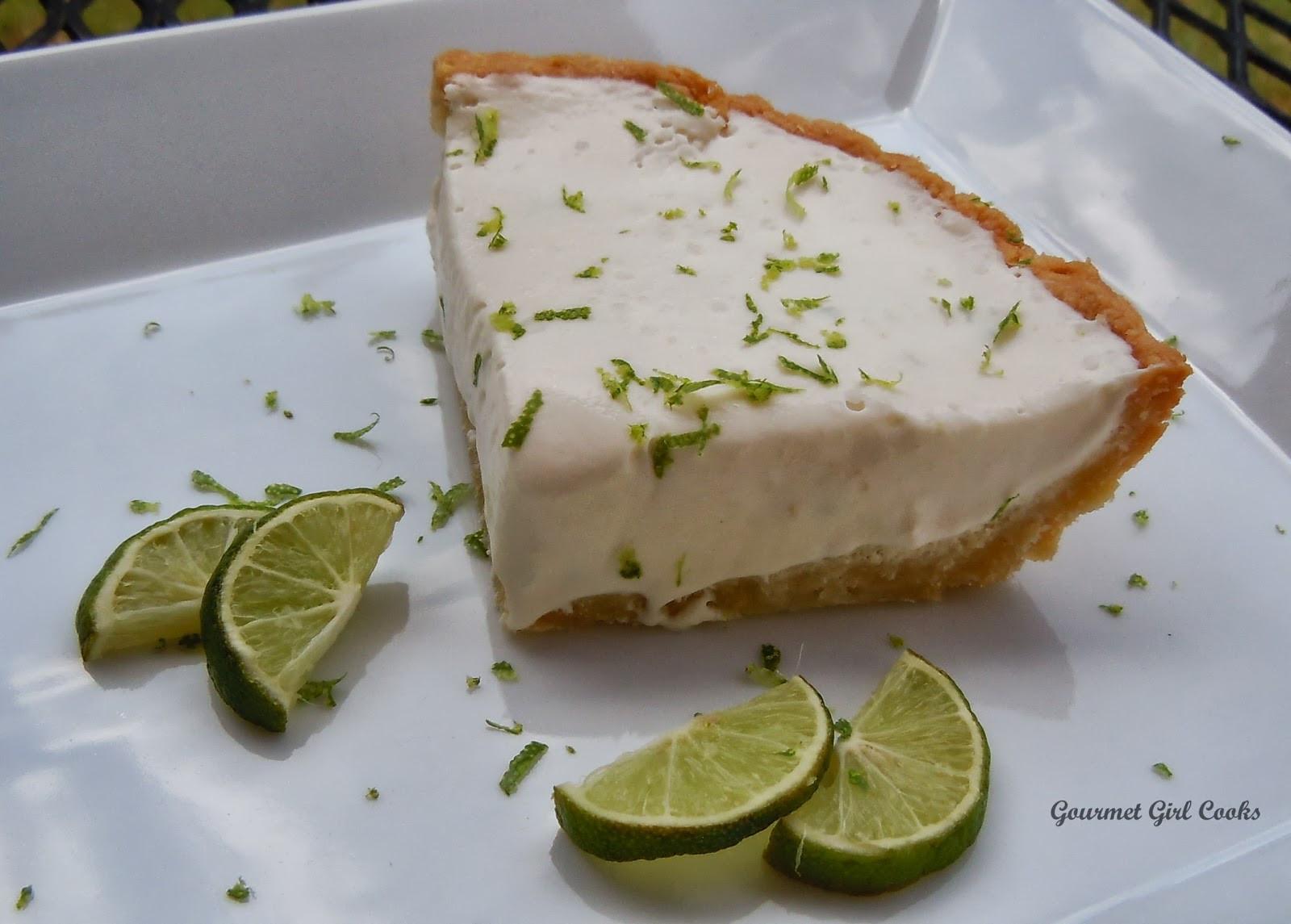 Dairy Free Key Lime Pie With Coconut Milk  Gourmet Girl Cooks Key Lime Pie w Almond Coconut Crust