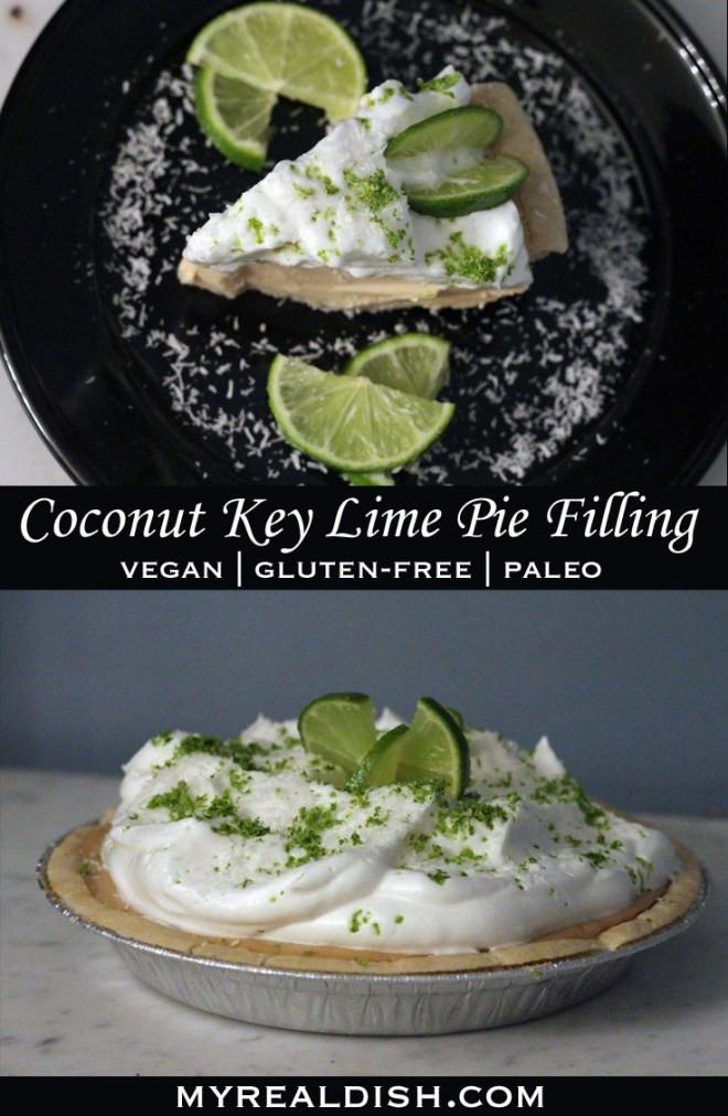 Dairy Free Key Lime Pie With Coconut Milk  Coconut Key Lime Pie Filling Gluten free Vegan & Paleo
