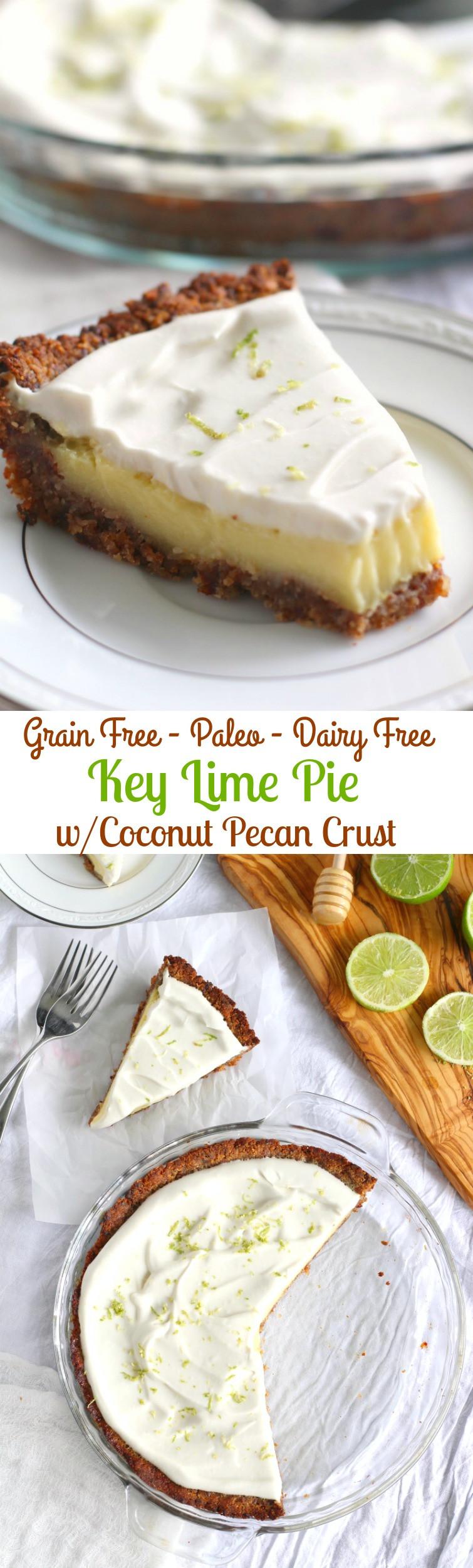 Dairy Free Key Lime Pie With Coconut Milk  vegan key lime pie coconut milk