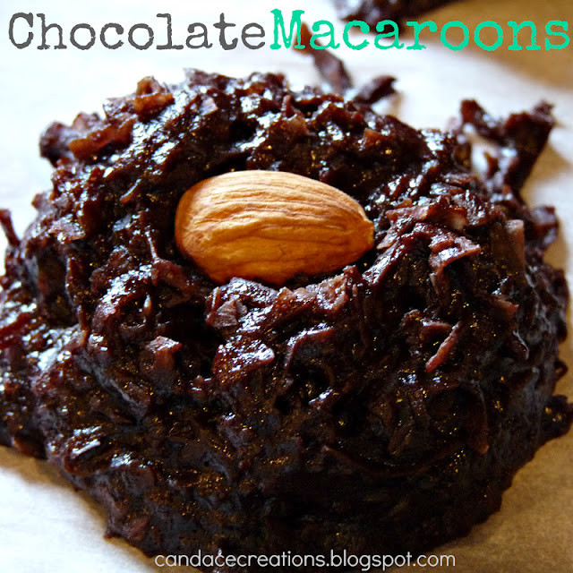 Dairy Free Macaroons  Candace Creations Chocolate Coconut Macaroons Gluten