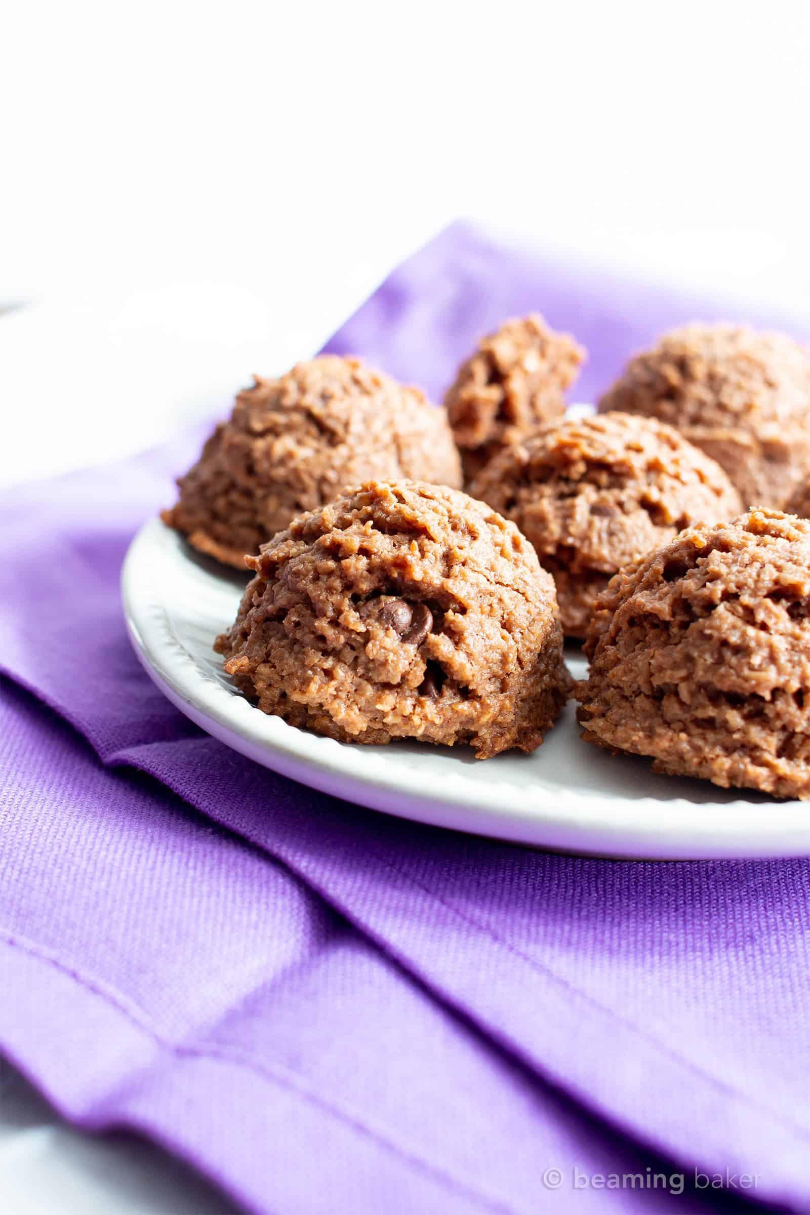 Dairy Free Macaroons  Paleo Chocolate Coconut Macaroons Recipe Vegan Gluten